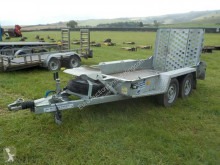 transport utilaje Ifor Williams GH94BT Plant Trailer