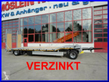 Möslein T 2 2 Achs Tieflader- Anhänger, FeuerverzinktNeu trailer