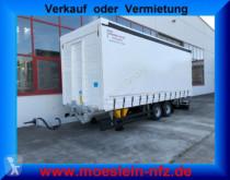 remorque Möslein TPF 105 Tandem- Schiebeplanenanhänger, Ladungssi