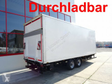 прицеп не указано Tandemkofferanhänger mit LBW + Durchladbar