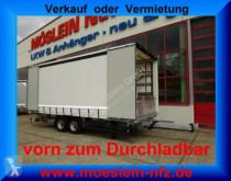 Möslein Tandem- Schiebeplanenanhänger zum DurchladenLad trailer