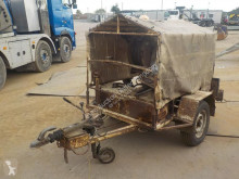 remorque nc TL30 Single Axle Winch Trailer