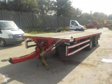 King Twin Axle Flat Bed Draw Bar Trailer c/w Air Brakes trailer