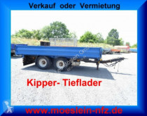 reboque Müller-Mitteltal KA-TA-T 13,5 t Tandemkipper- Tieflader