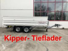прицеп Möslein TDS 11 Schwebheim Tandem Kipper Tieflader mit Bo