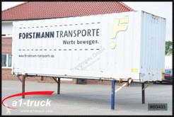 Krone 7,82 Wechelbrücke Textil / Koffer 2800mm, Doppelstock