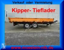 reboque Müller-Mitteltal Tandemkipper- Tieflader