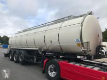 semirremolque Berger Lebensmitteltank1-Kammer 31.000l/Pumpe / Heizung
