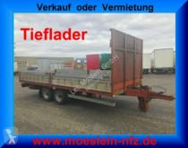 n/a Tandem- Pritschenanhänger- Tieflader trailer
