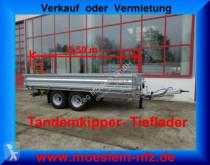 reboque Möslein Tandem- 3- Seiten- Kipper TiefladerLadeflächenl