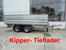 reboque Möslein 19 t Tandemkipper- Tieflader-- Neuwertig --