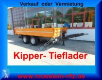 remorque Möslein 14 t Tandemkipper- Tieflader