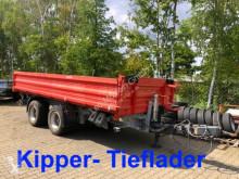 remorque Möslein 19 t Tandemkipper- Tieflader