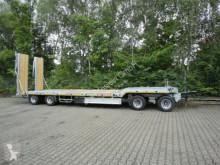 reboque Möslein 4 Achs Tieflader- Anhänger 2 teiligen hydr. Ram