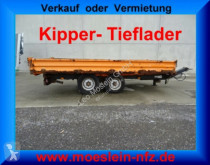remorque Müller-Mitteltal Tandemkipper- Tieflader