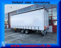 Möslein Tandem- Schiebeplanenanhänger, Ladungssicherung trailer