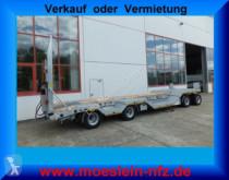 Möslein 4 Achs Tieflader mit Radmulden, Luftgefedert, A trailer