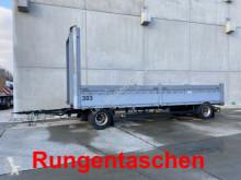 remorque Schwarzmüller 2 Achs Jumbo- Pritschenanhänger mit Rungentasch