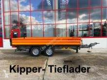 remorque Möslein 13 t Tandemkipper- Tieflader-- Wenig Benutzt --