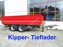 ремарке nc 18 t Tandemkipper- Tieflader-- Wenig Benutzt --