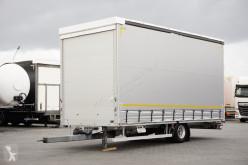 Tandem tautliner trailer