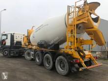 Stetter concrete mixer trailer