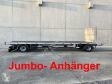 remorque Möslein 2 Achs Jumbo- Plattform- Anhänger, 8,60 m lang