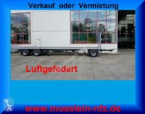 porta máquinas Möslein 3 Achs Jumbo- Plato- Anhänger