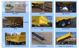 Voir les photos Remorque nc Dinapolis Anhänger 9,5t /Dumper trailer Dina DPS /przyczepa/Remo neuf