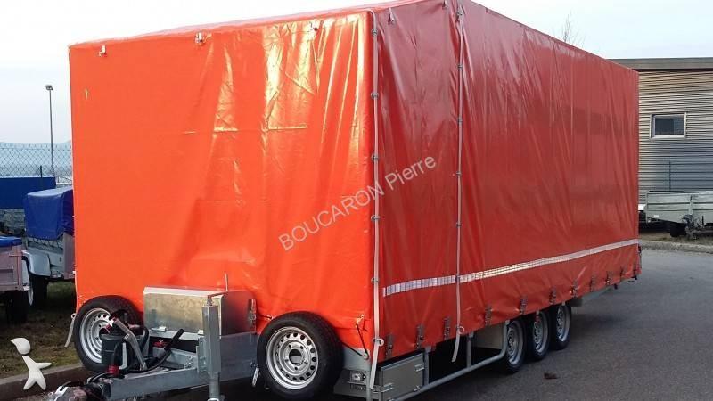 Remorque la mandrinoise porte voitures 3 essieux 3 essieux occasion n 2433215 - Remorque porte voiture 3 essieux ...