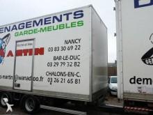 аукционы прицеп Fruehauf фургон для переезда 19t 2 оси б/у - n°2697941 - Фотография 2