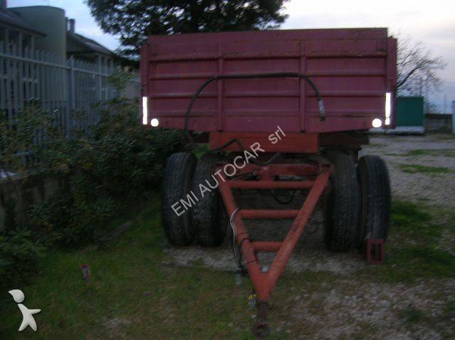 Rimorchio nc ribaltabile bertuola trailer ribaltabile for Bertuola rimorchi