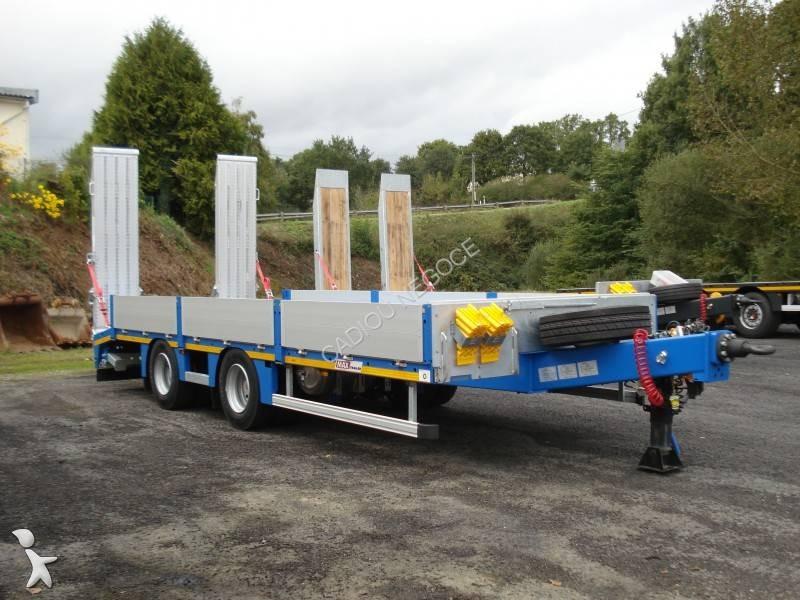 remorque max trailer porte engins 2 essieux 19t et 21 t ptc dispo 2 essieux neuve n 2251270. Black Bedroom Furniture Sets. Home Design Ideas