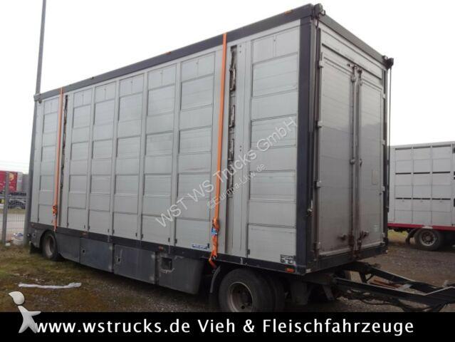 Gebrauchter k.A. Anhänger Viehtransporter Menke 4 Stock Lüfter ...