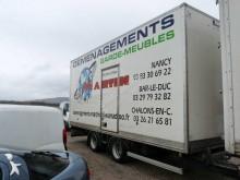 аукционы прицеп Fruehauf фургон для переезда 19t 2 оси б/у - n°2697941 - Фотография 3