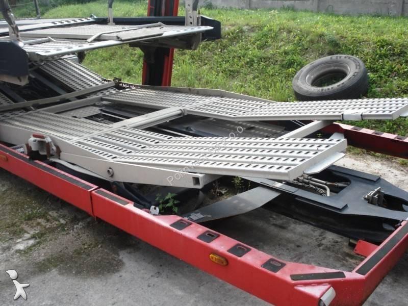 Remorque lohr porte voitures eurolohr 100 e3 2 essieux - Remorque porte voiture double essieux occasion ...