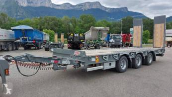 Voir les photos Remorque Castera DISPO Remorque plateau basculant 3 essieux porte-engins