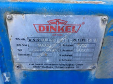 Voir les photos Remorque Dinkel DAP 18000 Pritsche Plane 2 Achse Anhänger