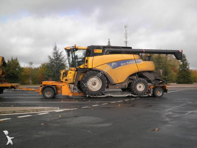 Remorque porte engins occasion recker nc r218 224 - Remorque porte engin agricole occasion ...