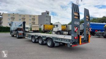 Ver las fotos Remolque Castera DISPO Remorque plateau basculant 3 essieux porte-engins