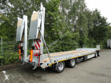 View images Möslein 4 Achs Tieflader  Anhänger, 2 teiligen hydr. Ram trailer