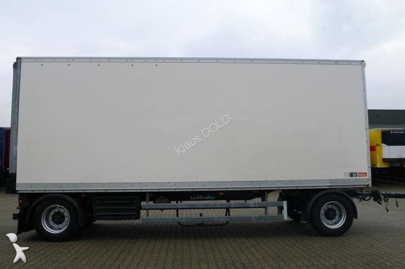 remorque lecitrailer fourgon r2s bpw disque de frein avec carte grise francais 2 essieux. Black Bedroom Furniture Sets. Home Design Ideas