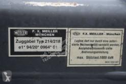 Ver as fotos Reboque Meiller MZDA 18/21 Tandem Dreiseitenkipper Bordmatik