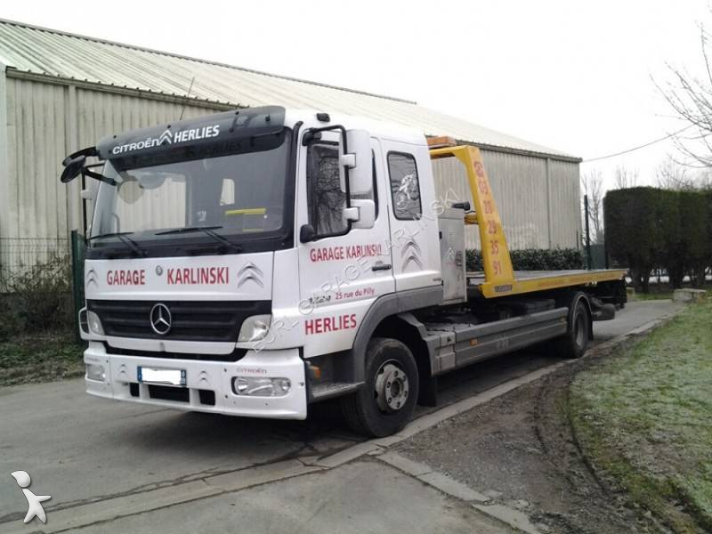D panneuse mercedes atego 4x2 occasion n 1272882 for Garage mercedes utilitaire