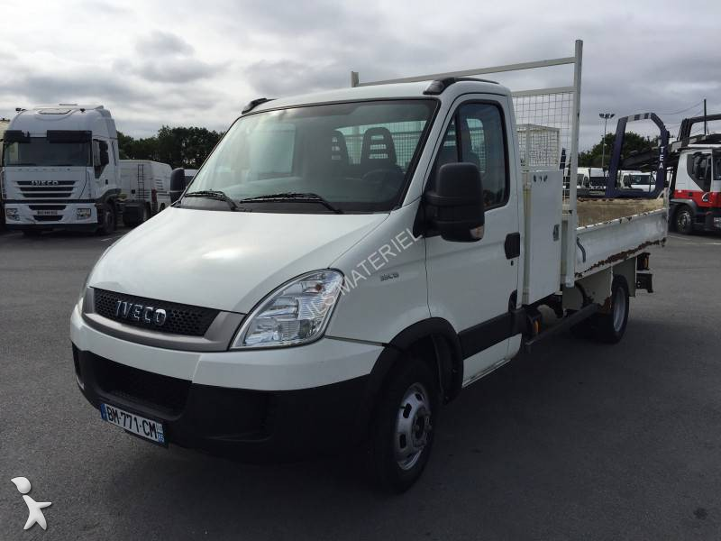 utilitaire benne iveco daily 35c13 4x2 gazoil occasion