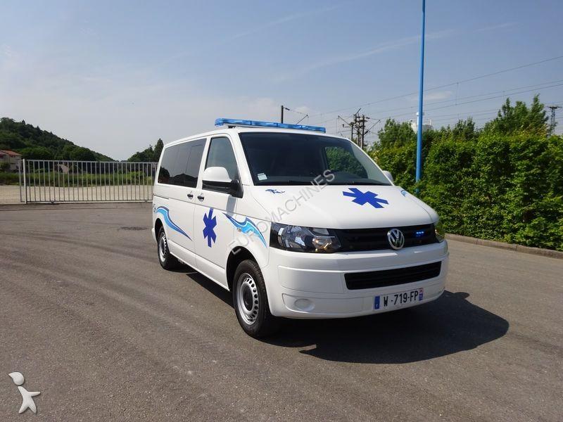 ambulance volkswagen t5 140 cv dsg7 occasion n 1715032. Black Bedroom Furniture Sets. Home Design Ideas