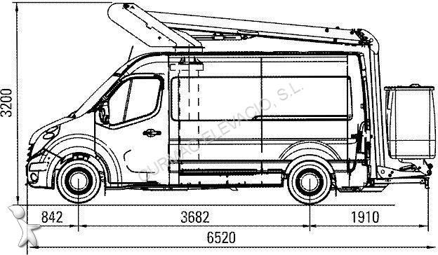 new renault master cargo van