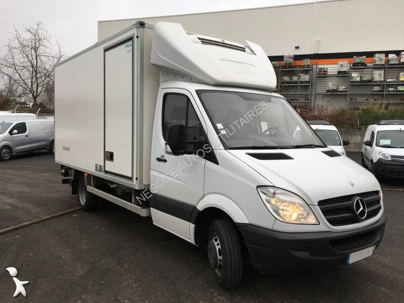 utilitaire frigo caisse n gative occasion mercedes sprinter 516 cdi gazoil hayon annonce n 1803004. Black Bedroom Furniture Sets. Home Design Ideas
