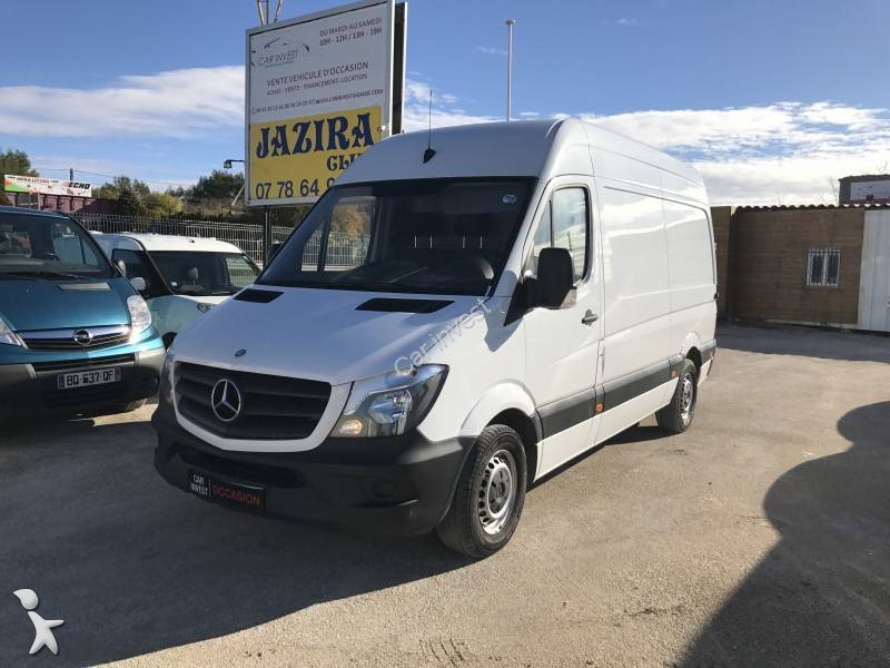 fourgon utilitaire mercedes sprinter 313 cdi 37s occasion. Black Bedroom Furniture Sets. Home Design Ideas