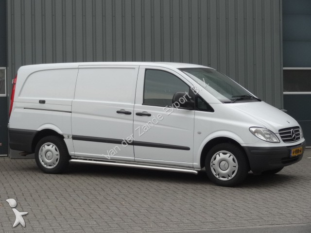 fourgon utilitaire mercedes vito 115cdi lang airco occasion n 1933348. Black Bedroom Furniture Sets. Home Design Ideas